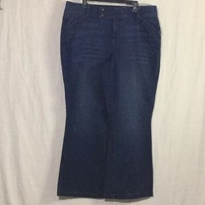 lanebryant Flare Tighter Tummy Technology Jeans
